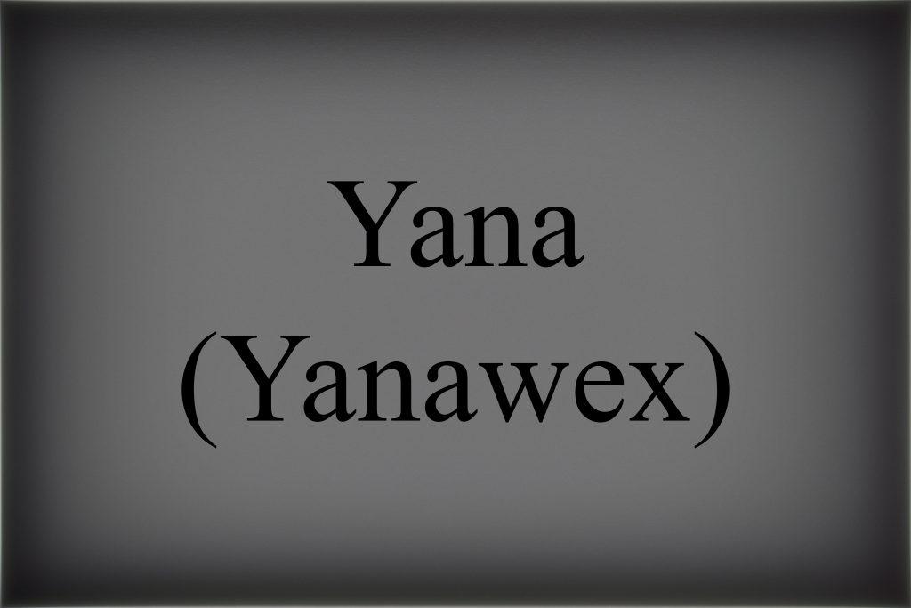 Yanawex
